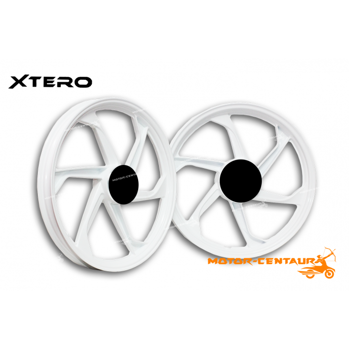 XTERO SPORT RIM XT-06 1p40X17(F) 1p60X17(R) LC135 WHITE