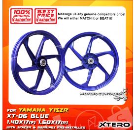XTERO SPORT RIM XT-06 1.40X17(F) 1.60X17(R) Y15ZR BLUE