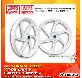 XTERO SPORT RIM XT-06 1.40X17(F) 1.60X17(R) Y15ZR WHITE