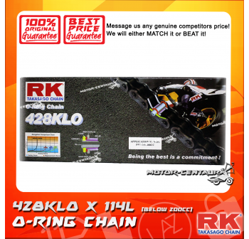 RK O-RING CHAIN 428KLO X 114L