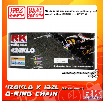 RK O-RING CHAIN 428KLO X 132L