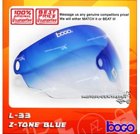 BOGO VISOR L33 (LTD) 2-TONE BLUE
