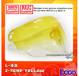 BOGO VISOR L33 (LTD) 2-TONE YELLOW