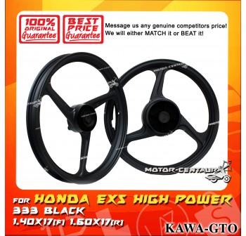 KAWA-GTO SPORT RIM 333 1.40X17(F) 1.60X17(R) EX5 BLACK