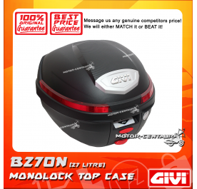 GIVI TOP CASE (NO LIGHT) B270N BLACK