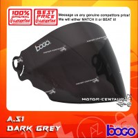 BOGO VISOR A51 (ARC RITZ) DARK GREY