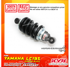 KYB KAYABA ADJUSTABLE REAR MONOSHOCK ABSORBER MS1044B YAMAHA LC135 BLACK