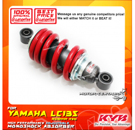KYB KAYABA ADJUSTABLE REAR MONOSHOCK ABSORBER MS1044R YAMAHA LC135 RED