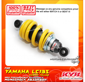 KYB KAYABA ADJUSTABLE REAR MONOSHOCK ABSORBER MS1044Y YAMAHA LC135 YELLOW