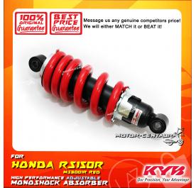 KYB KAYABA ADJUSTABLE REAR MONOSHOCK ABSORBER MS3001R HONDA RS150R RED