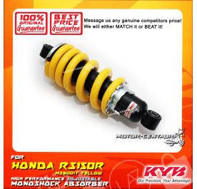 KYB KAYABA ADJUSTABLE REAR MONOSHOCK ABSORBER MS3001Y HONDA RS150R YELLOW