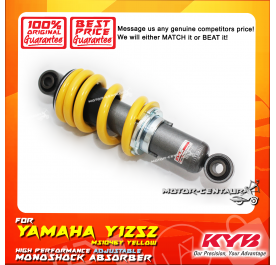 KYB KAYABA ADJUSTABLE REAR MONOSHOCK ABSORBER MS1046Y YAMAHA Y125Z / Y125ZR YELLOW