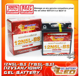 LEO GEL BATTERY 12N5L-BS (YB5L-BS)