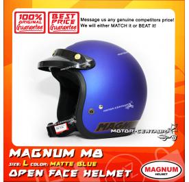 MAGNUM HELMET M8 MATT BLUE L