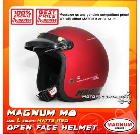 MAGNUM HELMET M8 MATT RED L