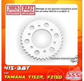 SSS REAR SPROCKET STEEL FZ150 415-38T