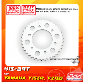 SSS REAR SPROCKET STEEL FZ150 415-39T