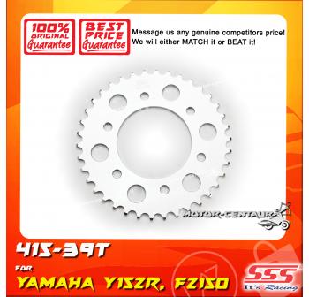 SSS REAR SPROCKET STEEL FZ150 415-39T