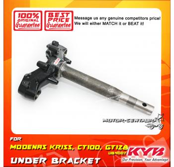 KYB KAYABA UNDER BRACKET HANDLE T-FORK UB4007 MODENAS KRISS / CT100 / GT128 / DINAMIK