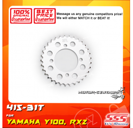 SSS REAR SPROCKET STEEL Y100 415-31T