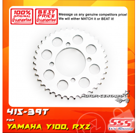 SSS REAR SPROCKET STEEL Y100 415-39T