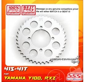 SSS REAR SPROCKET STEEL Y100 415-41T