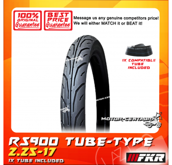 FKR TYRE RS900 2.25-17 WITH FKR TUBE