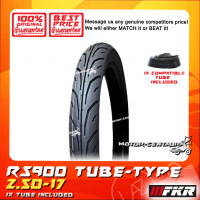 FKR TYRE RS900 2.50-17 WITH FKR TUBE