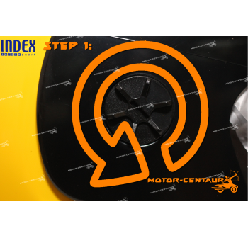 INDEX HELMET SIDE CAPS SET