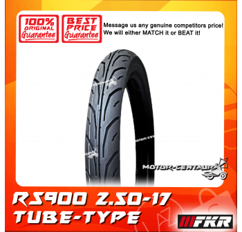 FKR TYRE RS900 2.50-17