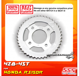 SSS REAR SPROCKET STEEL RS150R 428-45T