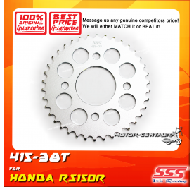 SSS REAR SPROCKET STEEL RS150R 415-38T