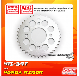 SSS REAR SPROCKET STEEL RS150R 415-39T