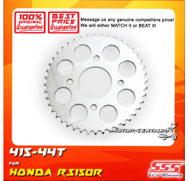 SSS REAR SPROCKET STEEL RS150R 415-44T