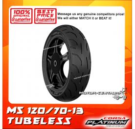 CORSA PLATINUM TUBELESS TYRE M5 120/70-13