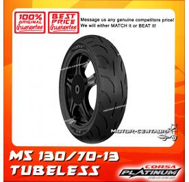 CORSA PLATINUM TUBELESS TYRE M5 130/70-13