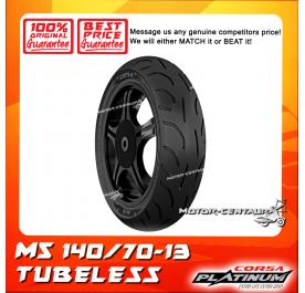 CORSA PLATINUM TUBELESS TYRE M5 140/70-13