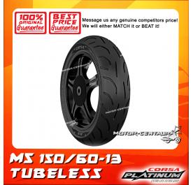CORSA PLATINUM TUBELESS TYRE M5 150/60-13