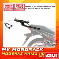 GIVI MONORACK MV MODENAS KRISS 110 2019