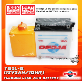 OSIMA FLOODED CELLS LEAD ACID BATTERY YB5L-B