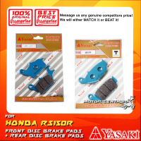 YASAKI FRONT DISC BRAKE PADS + REAR DISC BRAKE PADS FOR HONDA RS150, RS150R