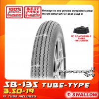 SWALLOW TYRE SB-135 3.50-19 WITH ORS TUBE