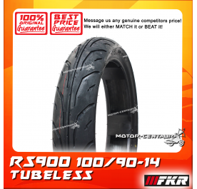 FKR TUBELESS TYRE RS900 100/90-14