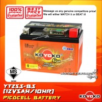 KOYOKO GOLD PICOCELL BATTERY YTZ5S-BS