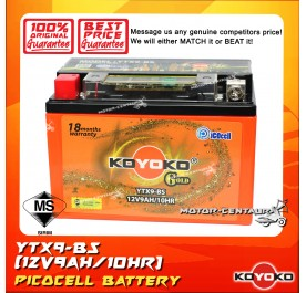 KOYOKO GOLD PICOCELL BATTERY YTX9-BS