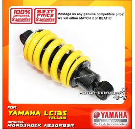 YAMAHA REAR MONOSHOCK ABSORBER 55C-F2210-09-YL FOR YAMAHA LC135 YELLOW