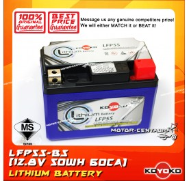 KOYOKO LITHIUM ION PHOSPHATE BATTERY LFP5S-BS