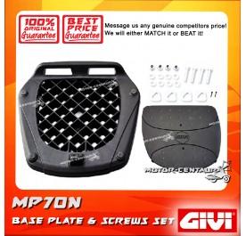 GIVI BASE PLATE & SCREW SET MP70N
