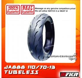 FKR TUBELESS TYRE JA888 110/70-13