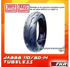 FKR TUBELESS TYRE JA888 110/80-14